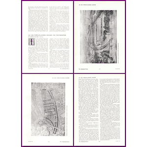 1912 And 1832 Town Planning Scheme For Westminster, Brook Kitchin