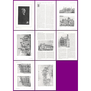 1912 Some Personal Recollections Of Norman Shaw, By Arthur Keen