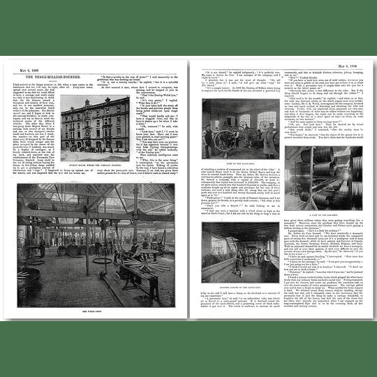 Origin of The Pneumatic Tyre Company Ltd in 1896