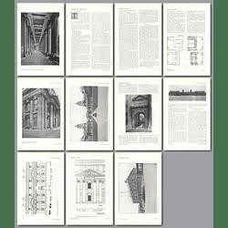 1911 Greenwich Hospital, Design, Plans By J Farquharson
