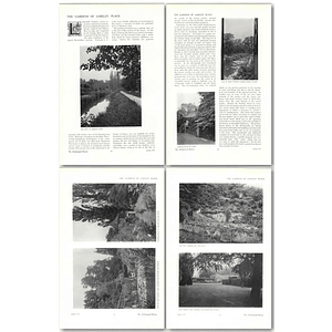 1911 The Gardens Of Loseley Place