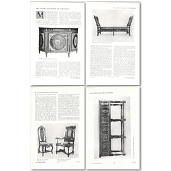 1911 Mr Wh Lever, Collection Of Furniture In Hampstead