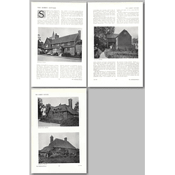 1911 The Surrey Cottage, Witley, Compton, Shalford