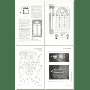 1911 Stone Church, Kent, Windows, Design, Plan