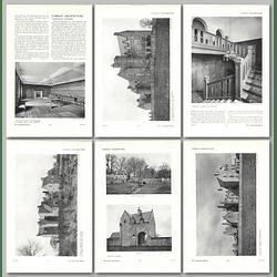 1911 The Old Castle Of Rowallan Near Kilmarnock