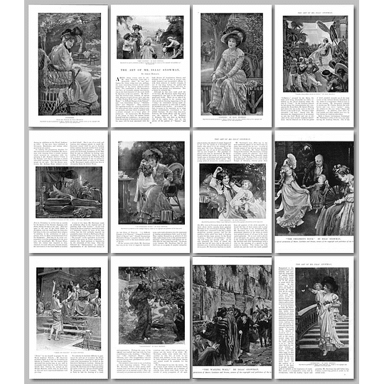 The Wonderful Art of Mr Isaac Snowman 1903 Article