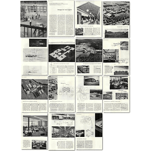 1957 10 New Buildings, Revolution In High School Organisation And Appearance
