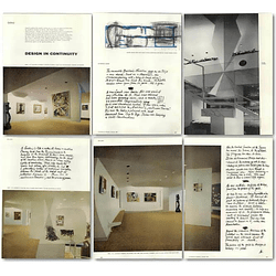 1957 The World House Gallery, New York, Design In Continuity