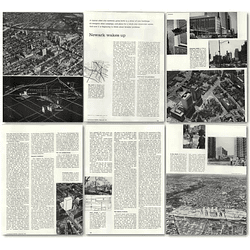 1957 Typical Older City, Newark, Wakes Up Faces Planning Problems