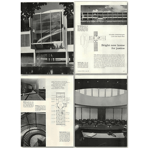 1957 Supreme Court Of Puerto Rico, Bright New Home For Justice