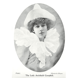 1902 Lady Archibald Campbell In Theatrical Costume