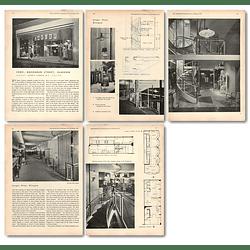 1955 Jaeger Company Shop Buchanan Street Glasgow