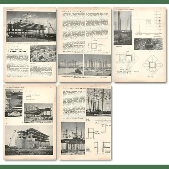1955 Residential Apartments Rideau Towers In Calgary Alberta