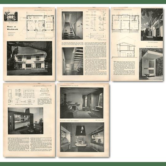 1955 Bombed Out Victorian House, Blackheath, Lesley Bilsby, Rebuilt