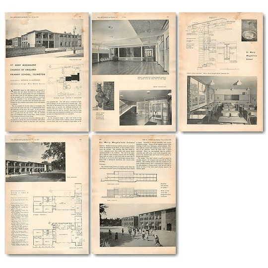 1955 St Mary Magdalene Church Of England Primary School Islington
