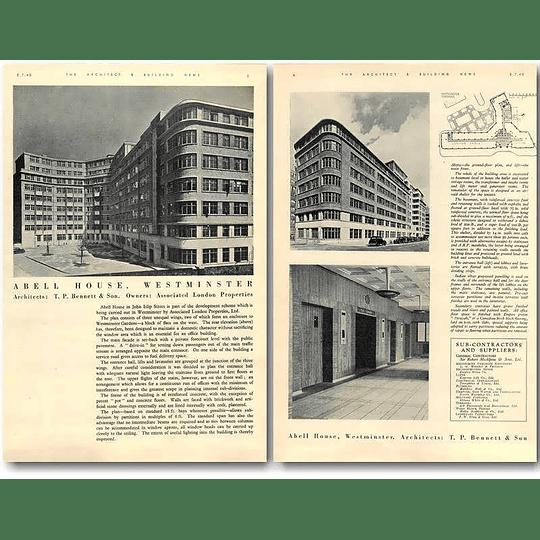 1940 Abell House, Westminster Design, Plans