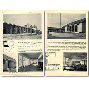 1940 Junior And Infants School, North Lancing Design, Plans