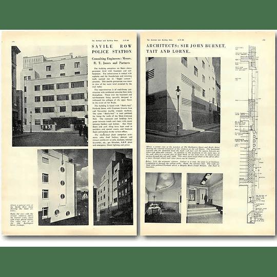 1940 Savile Row Police Station