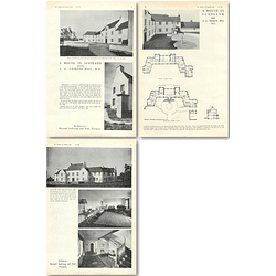 1940 House In Scotland For Ag Erskine Hill, Mp Design,Plans