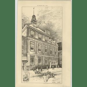 1897 English School For French London Protestants Aston Webb Architect
