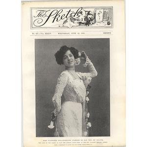 1901 Miss Florence Collingbourn