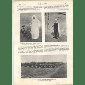1901 Muley Abdul Aziz Sultan Morocco Kaid Maclean Crack Corps