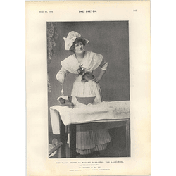 1901 Miss Ellen Terry Laundress Madame Sans-gene