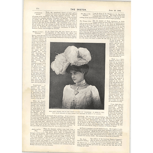 1901 Miss Mary Wilson Wall Street Win Miss Cynthia Brooke