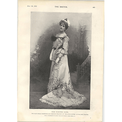 1901 Miss Winifred Hare Silver Slipper