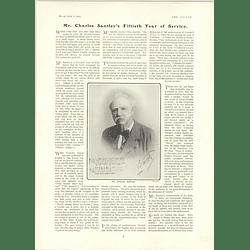 1902 Mr Charles Santley 50 Years Public Singer