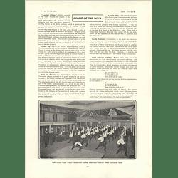 1902 Fleet Street Newspaper Clerks At Lunch