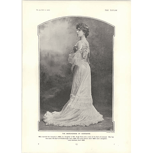 1902 Marchioness Of Downshire Sir Edmund Elton Working Potter