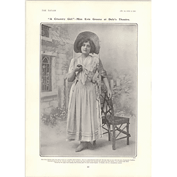 1902 Miss Evie Green Country Girl Charles Hawtrey Message From Mars