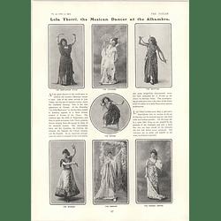 1902 Mexican Dancer Lola Yberri Lillian Blauvelt Greta Williams