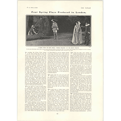 1902 Scene From The Opera Merrie England At The Savoy Theatre