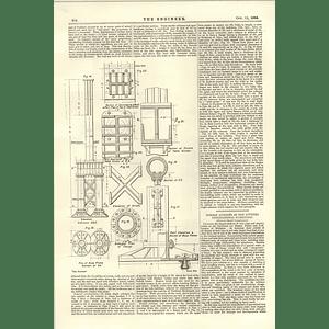 1894 Horizontal Compound Mill Engine Victor Coates Belfast