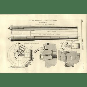 1890 Ss Teutonic Armstrong Guns