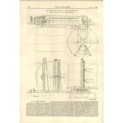 1890 Boiler Making Machinery George Booth Halifax