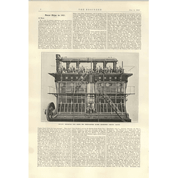 1922 North-eastern Marine Engineering Werkspoor Type Engine