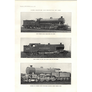 1922 Baltic Type Tank Engine Stephenson Liner Southern Cross Tanker Acardo