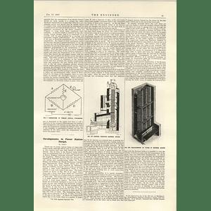 1922 Glover Holbeck Lane Leeds Firewood Boxing Machine Kestner Boiler