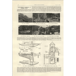 1922 Hydroelectric Installations At Denbigh Asylum Powerhouse Fish House Plans