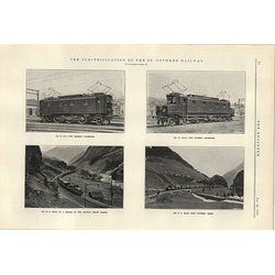 1922 Electrification Of St Gothard Railway 3