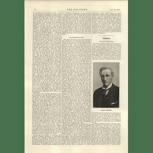 1922 Obituary Edward Hopkinson