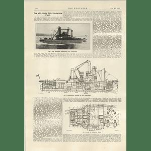 1922 Garryowen Grain Ship Discharging Tug Limerick