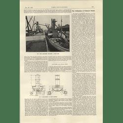 1922 Garryowen Unloading A Grain Ship Arrangement Of Receiver