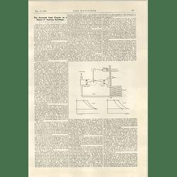 1922 Reversed Heat Engine To Heat Buildings The Motor Ship Pinzon