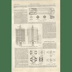 1922 Multiple Half Roasting Furnace Head Wrightson Stockton