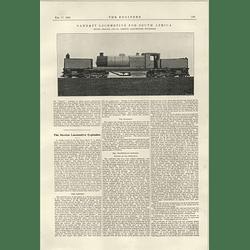 1922 Garrett Locomotive South Africa Buxton Boiler Explosion Report 2