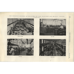 1922 Bradford Engineering Works Cole Marchant 3 Tool Stores Machine Shop